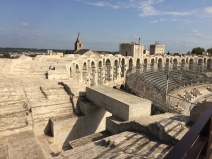 From the tower above the amphitheater, Arles