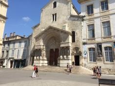 Arles town square.