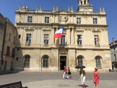 The town hall. Arles
