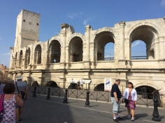 Amphitheater, Arles. Built in 90AD and took 10yrs to build.